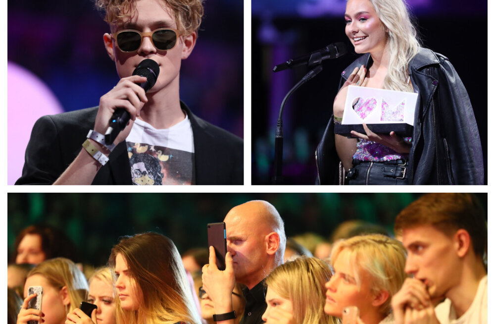FOTOD | Vaata, milline möll toimus Saku Suurhallis suurel MyHits Awards kontserdil ja auhinnagalal