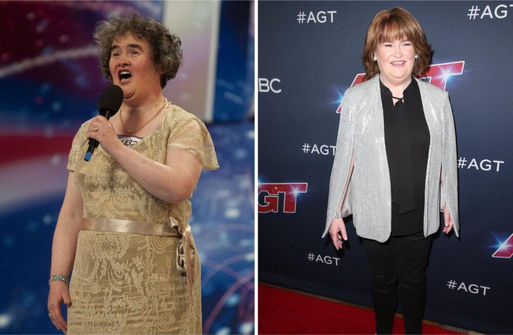 FOTOD | Milline muutus! Susan Boyle on nooruslikum kui eales varem