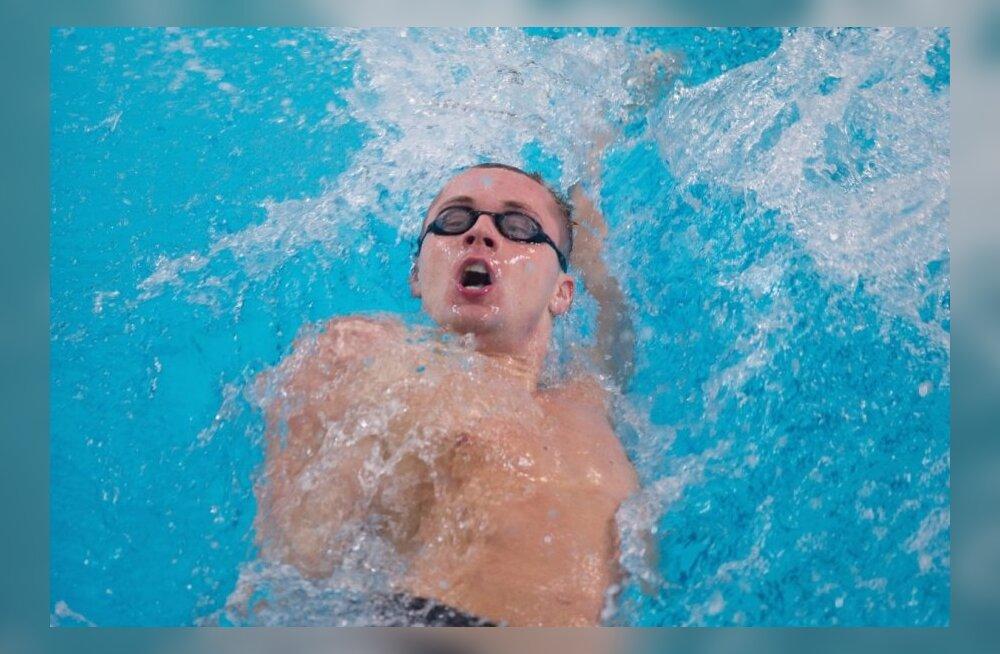 Tiitlivõistlusteks valmistuvad Eesti ujujad lihvivad vormi Kalev Open'il
