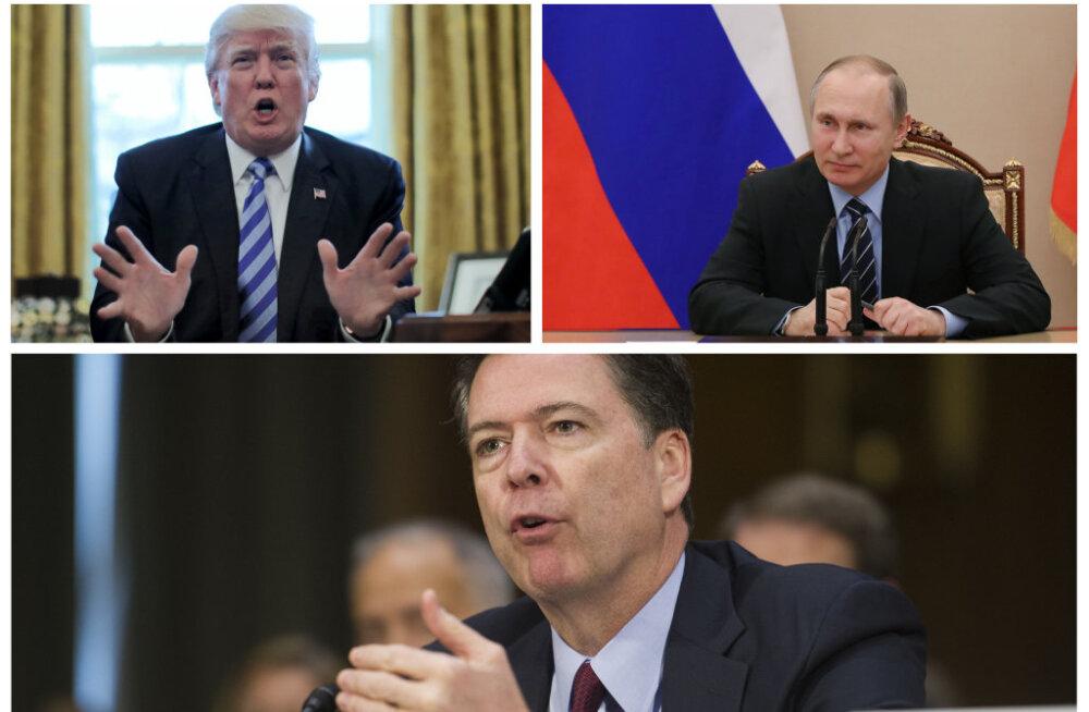 Jüri Estam: USA vastuluure direktori vallandamine jätab mulje Putini ühest võidust