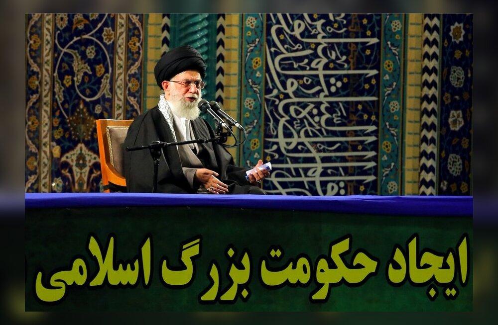Ajatolla Khamenei: marutõbine koer Iisrael on hukule määratud