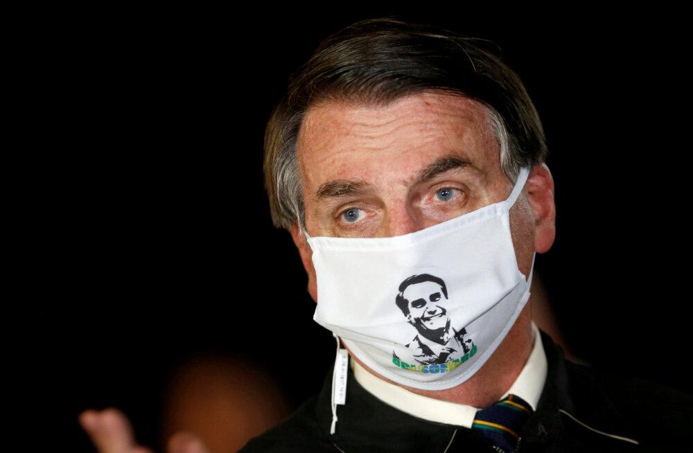 Brasiilia koroonakarantiini eitajast president Bolsonaro teatas, et käis kopsu-uuringul