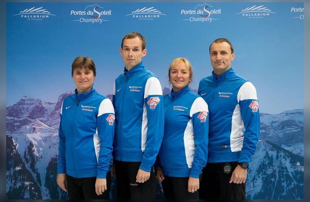 Curlingu MM-il võistlev Eesti segavõistkond