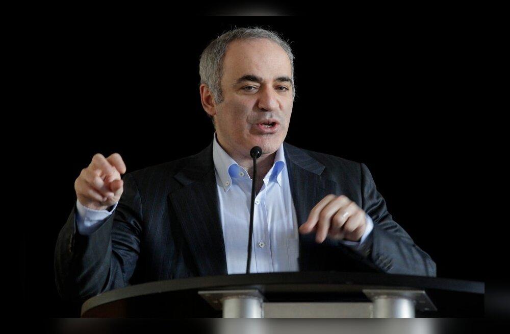 "Garry Kasparov avalik loeng ""Role of chess in education"""