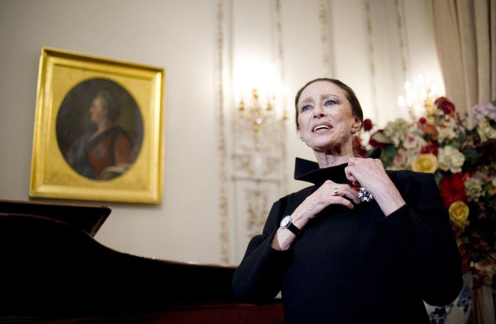 Suri kaasaja suurimaid balletilegende Maia Plissetskaja
