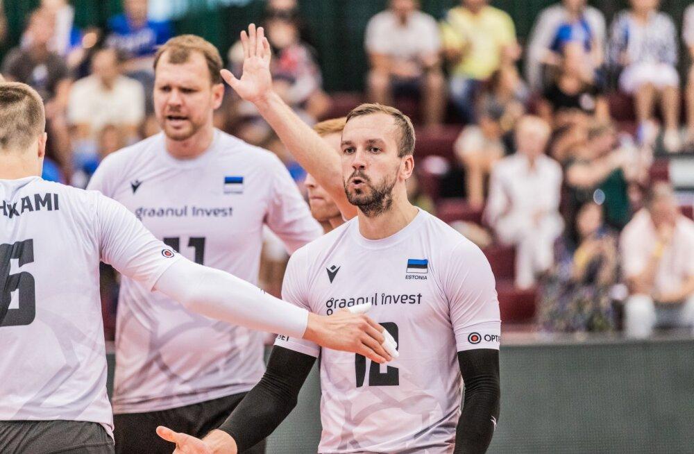Eesti-Läti võrkpall 06.08.20