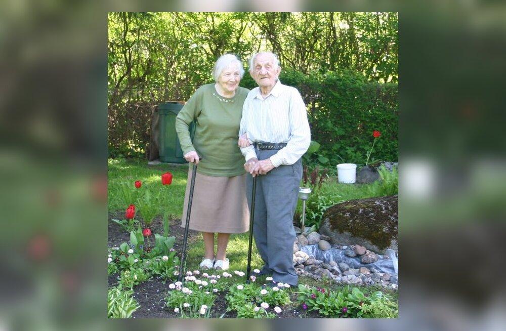 70 aastat abielu ja ühist kartulivagu