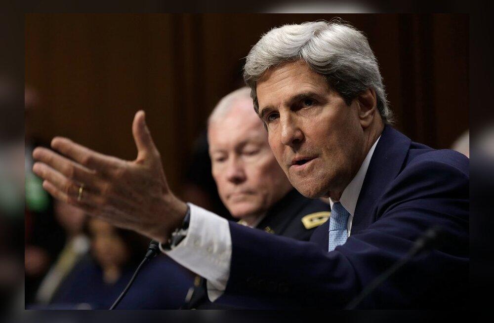 Kerry avas maavägede kasutamisele Süürias korraks ukse, kuid lõi selle siis kõvasti kinni