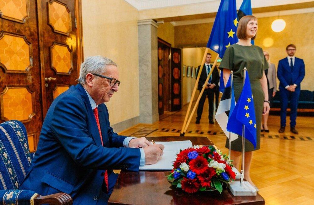 Juncker lubab Eesti põllumehi aidata, kuid midagi kindlat veel ei ütle