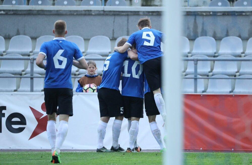Молодые эстонские таланты неудачно начали отборочный цикл