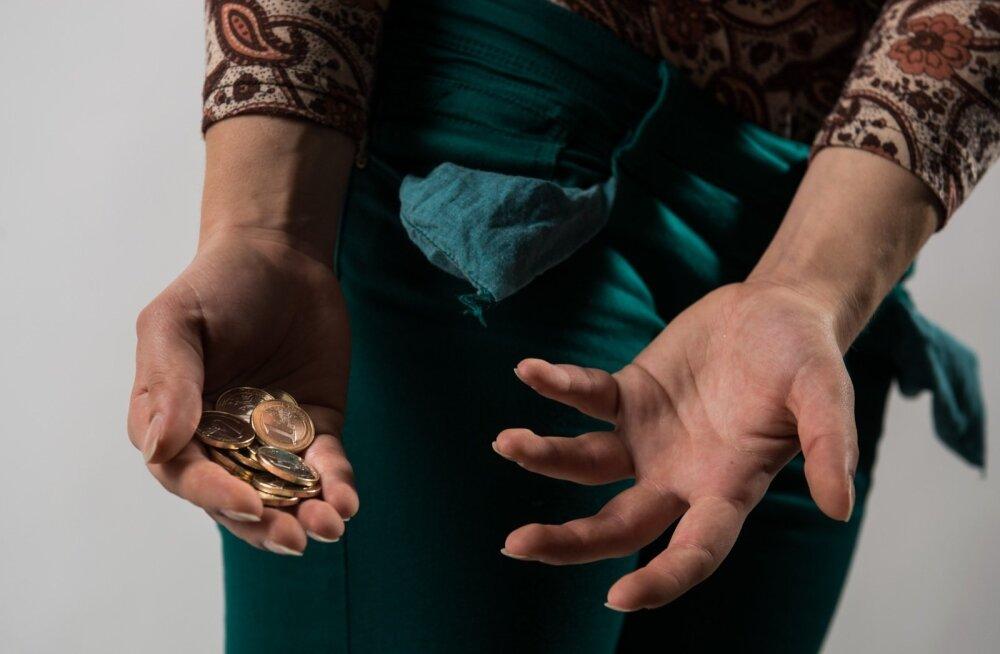 Исследование: у каждого четвертого эстонца недостаточно денег для достойной человека жизни