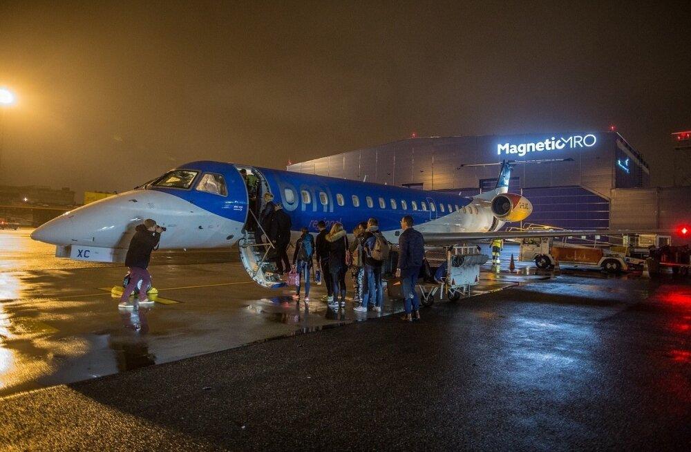 Nordic Aviationi esimene lend