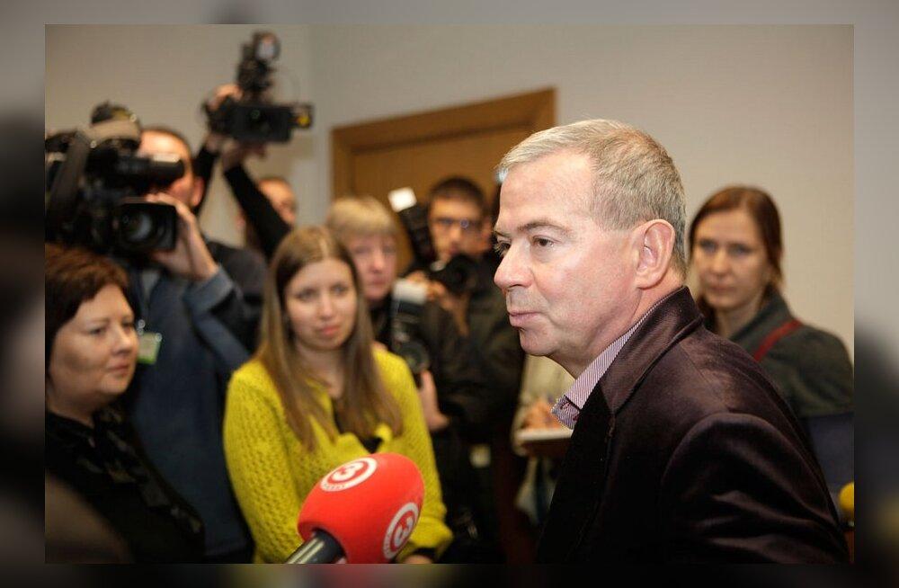 Läti minister vallandas Ventspilsi linnapea Lembergsi
