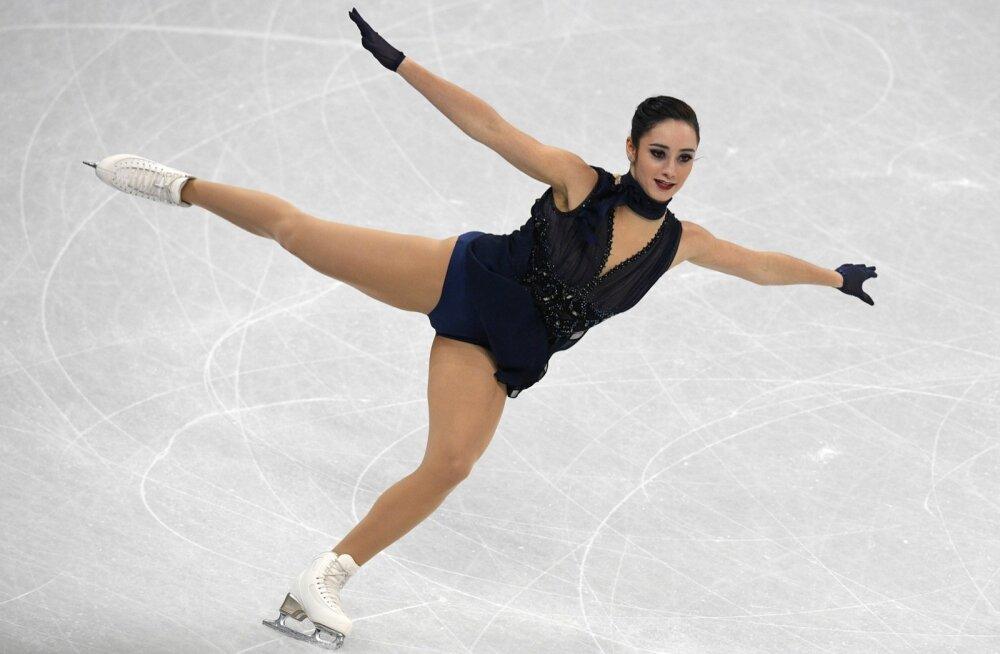 Võistkonnavõistluses Kanadaga kuldmedali võitnud leedi Kaetlyn Osmond.