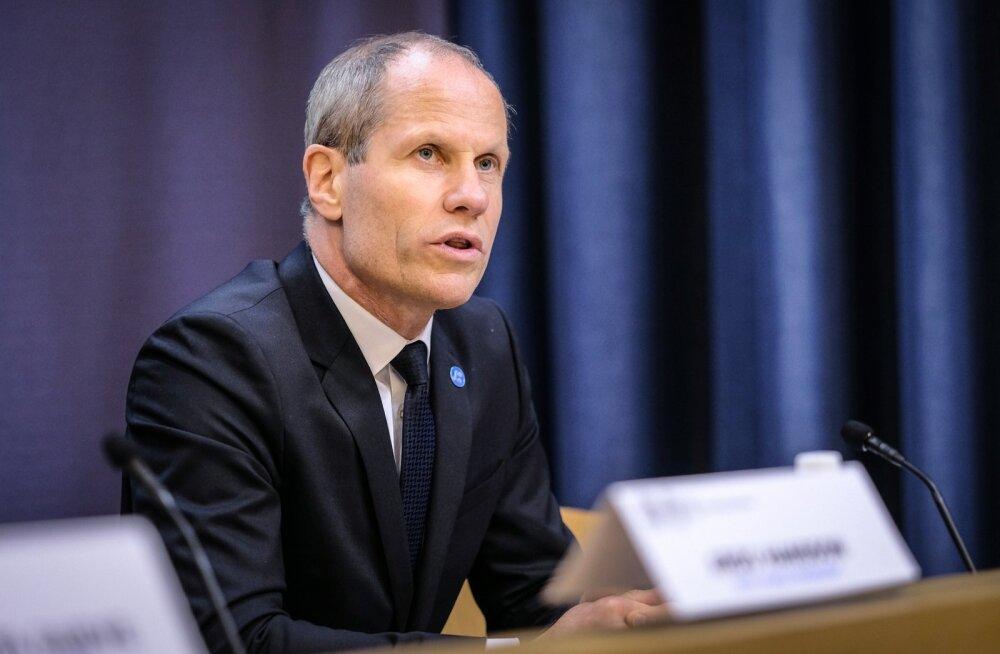 IMFi pressikonverents Eesti Pangas