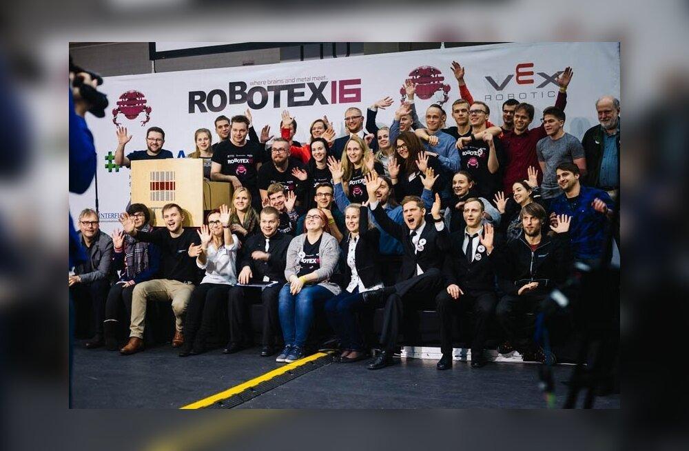 Robotex ootab oma meeskonda vabatahtlikke!