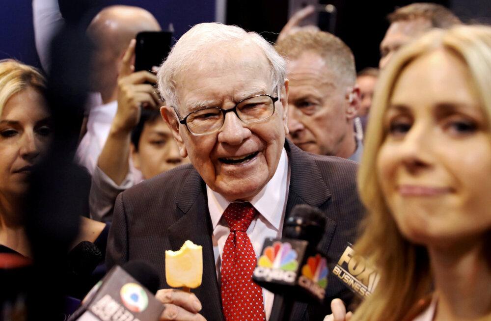 Üks mees pani aktsiad rallima. Muidu USA-keskne Buffett ostis osalused viies Jaapani ettevõttes