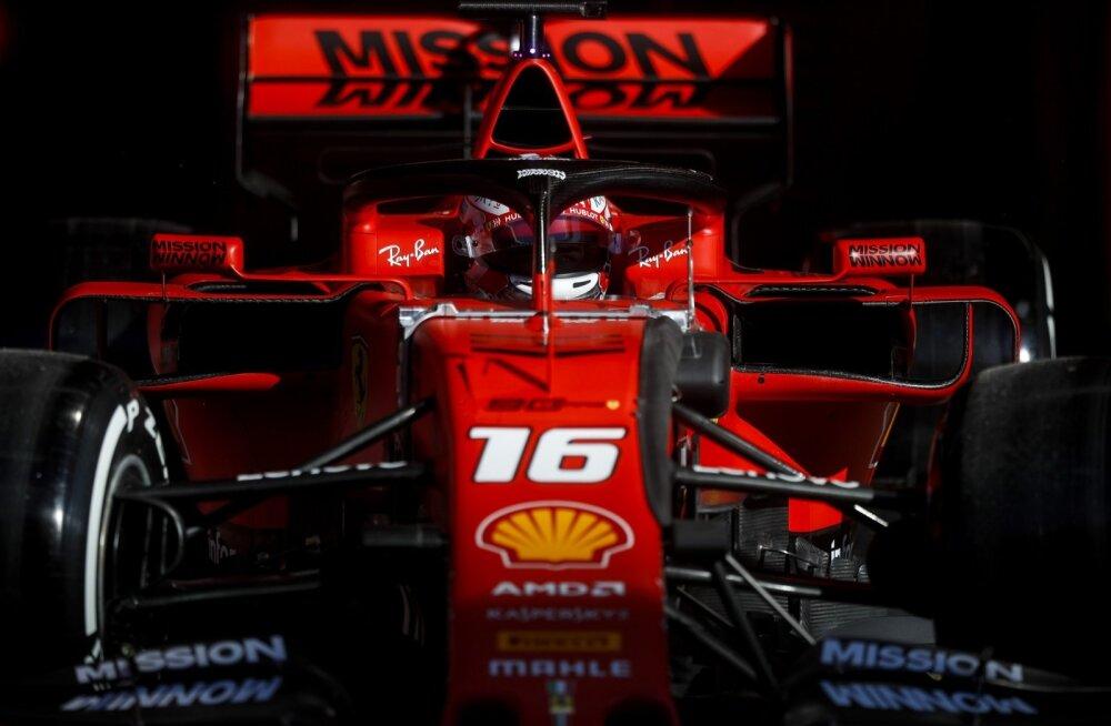 Ferrarist pole seni Mercedesele vastast.