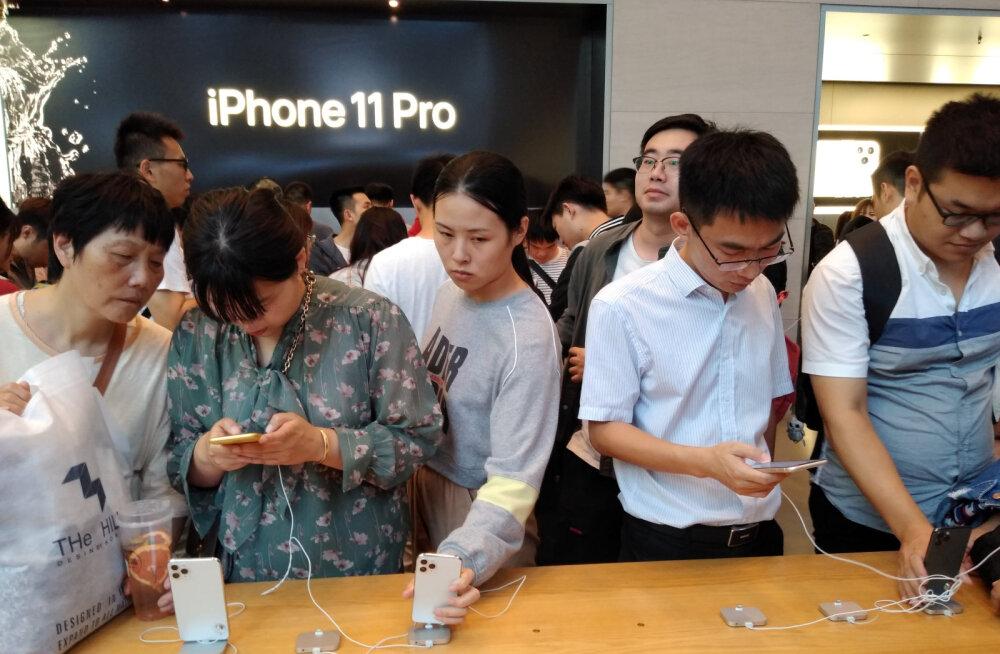 Apple Hiinas: suur äri ja probleemid Hongkongi ja Taiwaniga