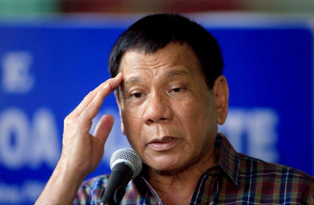 Filipiinide karmi jutuga president Duterte on ametiaja suurima kriisi ajal kuuendat päeva kadunud