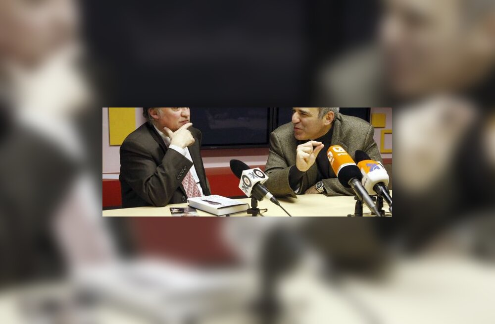 Anatoli Karpov ja Garri Kasparov