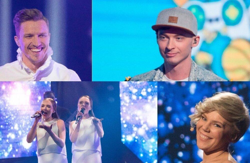 KÕIK ÜHES: Vaata Eesti Laulu 2. poolfinaali imelisi etteasteid uuesti!