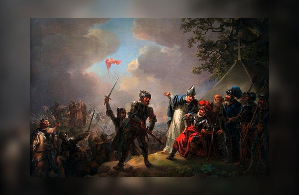 Идем в Кадриоргский музей! Даннеброг — флаг, опустившийся с небес. Искусство Золотого века Дании