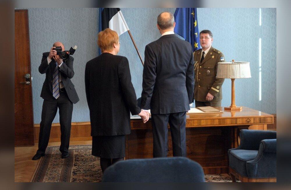 FOTOD: Soome president Tarja Halonen tegi Eestisse viimase visiidi riigipeana