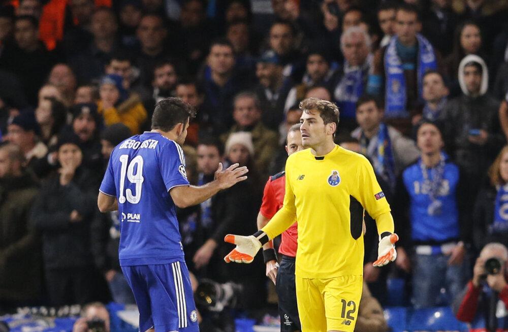 VIDEO: No milleks!? Costa niitis oma koondisekaaslase Casillase jalust