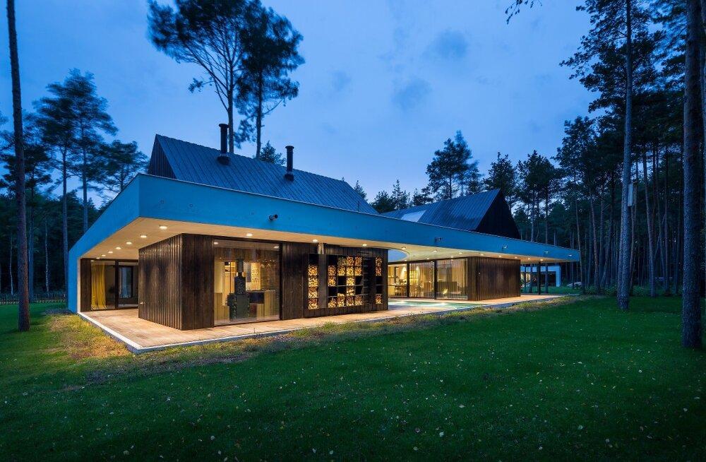 ФОТО: Эстонским бетонным строением года признан частный жилой дом в Виймси