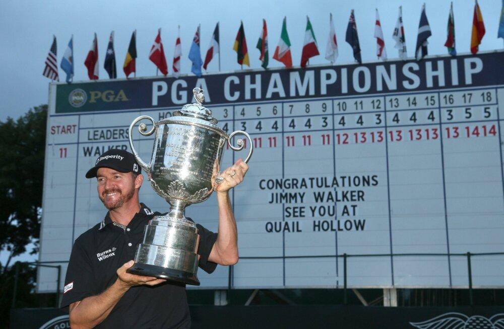 Jimmy Walker PGA meistrikarikaga