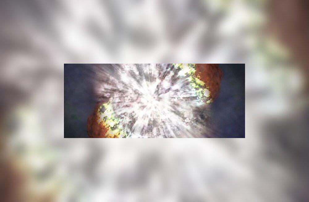 Röögatu plahvatus paljastas massiivseima tähe