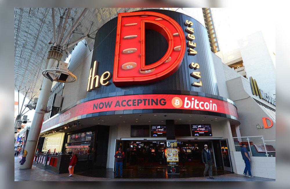 Las Vegase kasiinohotellid avasid Bitcoinile ukse