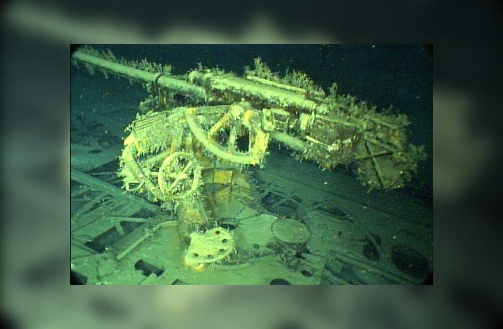 Uued kvaliteetsed fotod: natsiallveelaev Mehhiko lahe põhjas