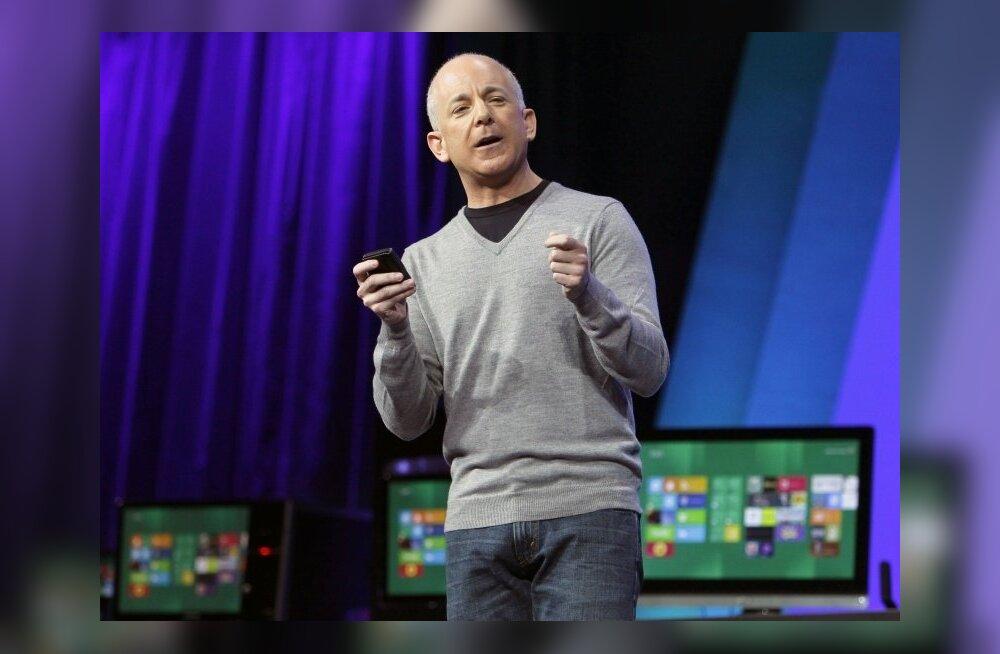 Windowsi pealik Steven Sinofsky lahkus Microsoftist