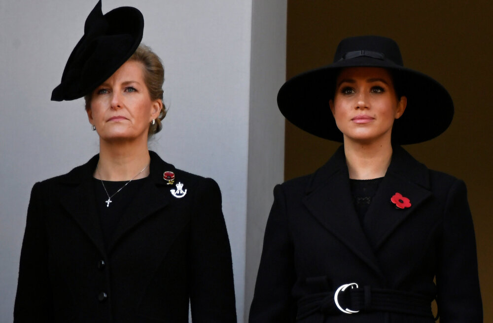 Krahvinna Sophie Meghan Markle'i ja prints Harry lahkumisest: mul oli viis aastat, et kuninglike eluga harjuda