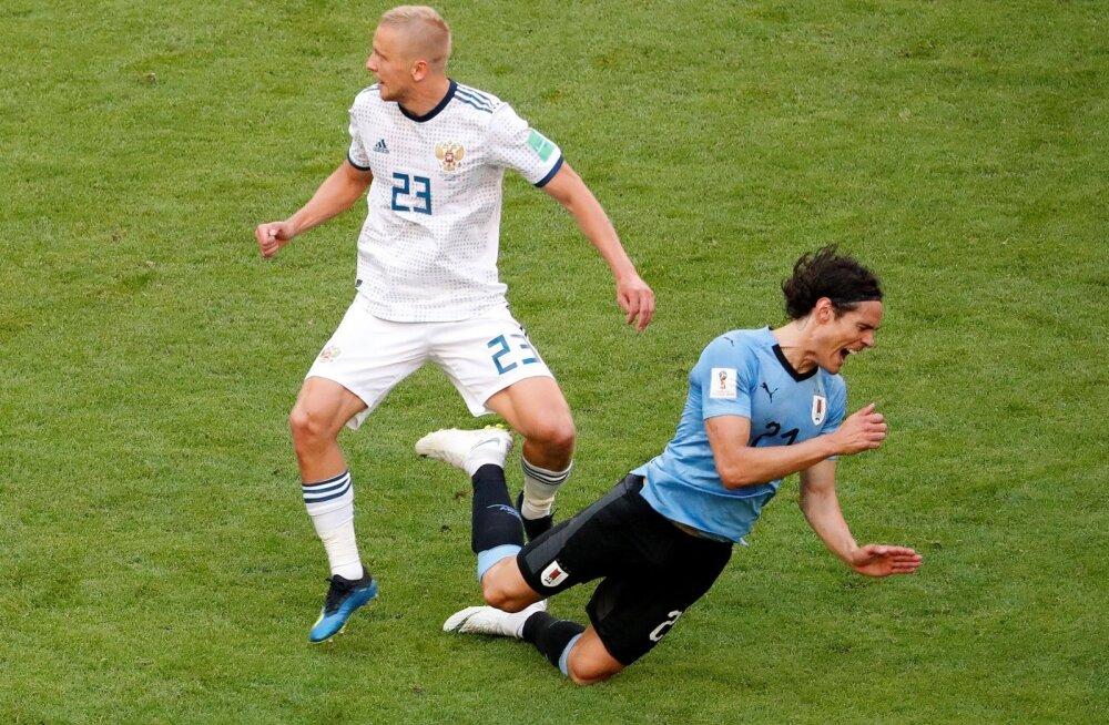 Jalgpall Uruguay - Venemaa