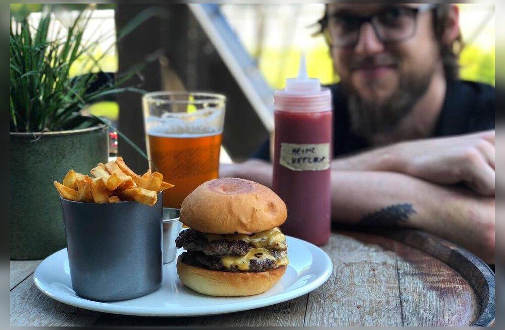"""Õllerestorani peakokk jagab häid nippe, mille abil valmib üks """"õige"""" hamburger, mis rahuldab ka kõige suurema burgerisõbra nõudmised"""