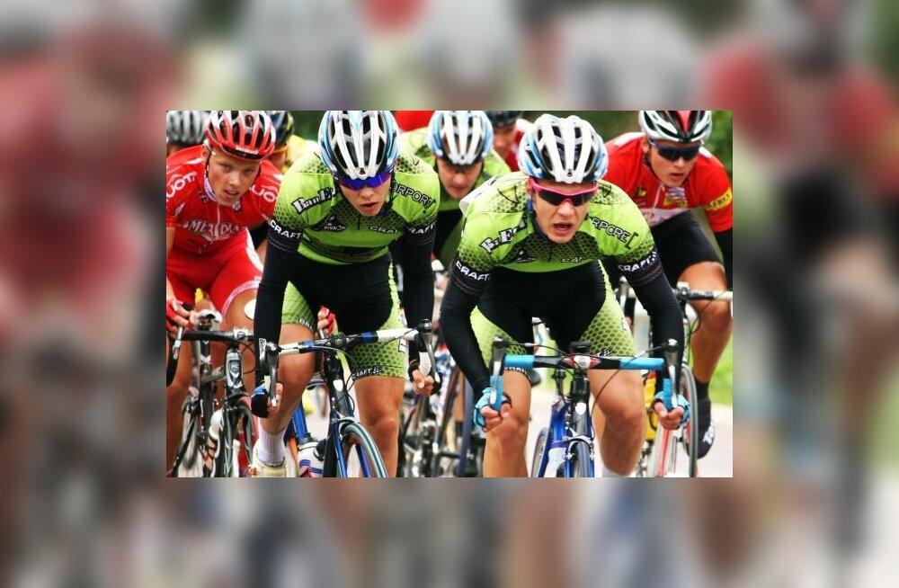 Mihkel Räim sai amatööride ühepäevasõidul Critérium de Briennonil 4. koha