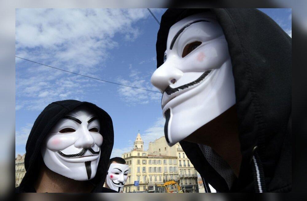 Guy Fawkes - häkkerite ja terroristide suur eeskuju
