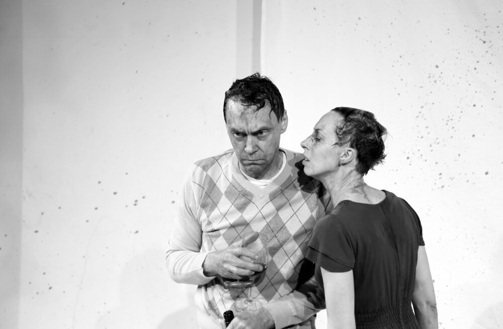 Laval Gert Raudsep ja Tiina Tauraite (Von Krahli Teater)