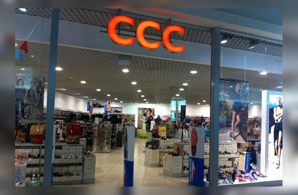 Euroopa suurim jalatsitootja siseneb tänavu Eesti turule
