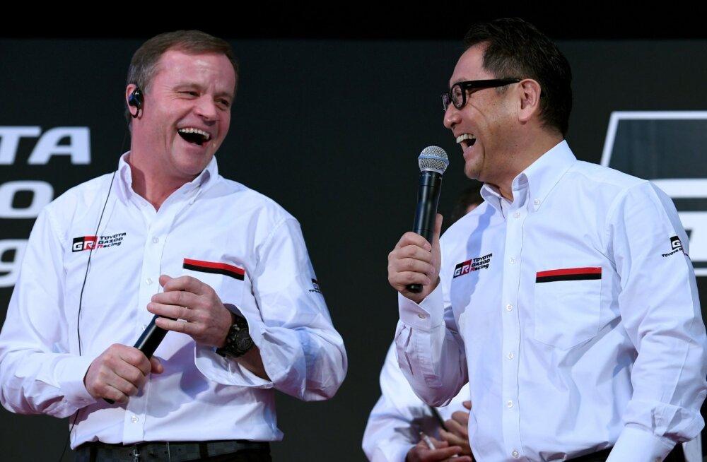 Toyota boss: teeme kõik, et Jaapani etapp WRC-sse tagasi tuua