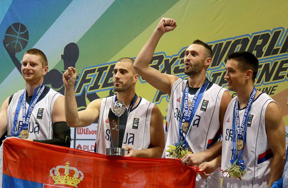 Eestil oli ebaõnne: kaks meie alagrupikaaslast mängisid 3x3 MM-il poolfinaalis, kuldmedalid läksid Serbiasse