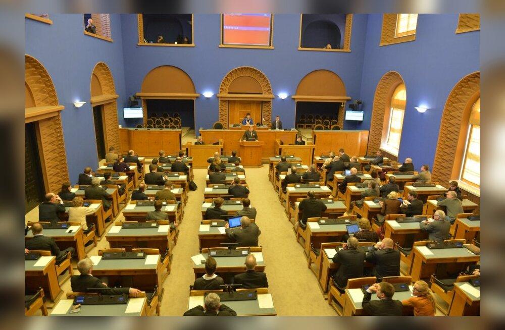 Riigikogu hakkab arutama demokraatiapaketi eelnõusid