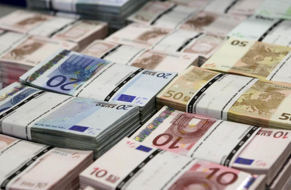 Igale euroala kodanikule peaks keskpank kinkima 1300 eurot
