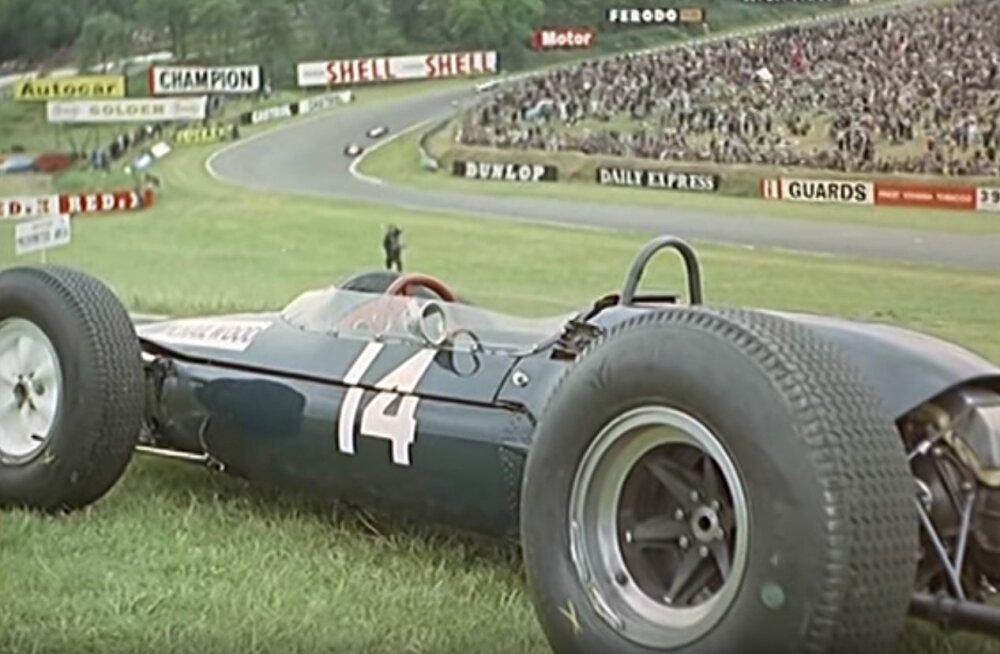 F1 aastal 1964: motikamehe karjääri hiilgavaim punkt pandi maha neljal rattal