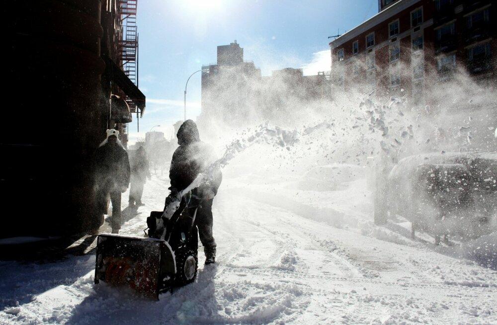 Tohutu õhumass kostitab ameeriklasi rekord-külma ilmaga