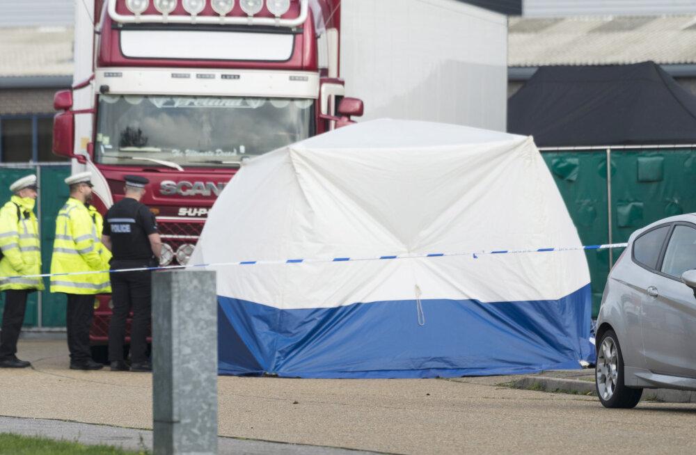 СМИ сообщили, что в грузовике с 39 погибшими в Великобритании были вьетнамцы