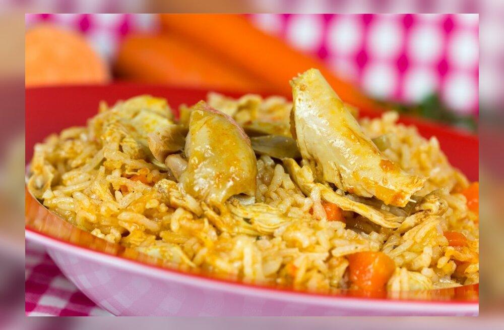 Retsept: indiapärane kana tikka masala